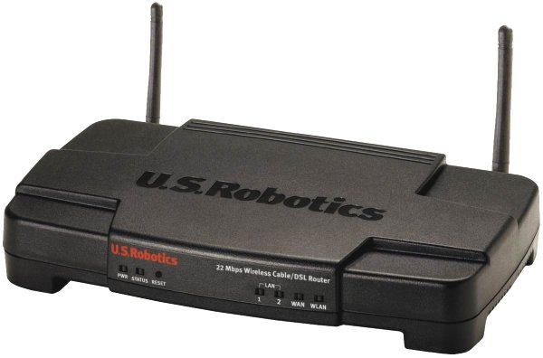 US Robotics 22 Mbps Wireless Cable/DSL Router