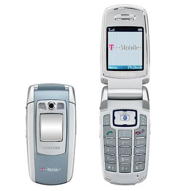 T-Mobile Samsung E715 Phone and Worldwide GSM Service