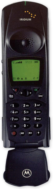 Iridium Service and Motorola Satellite Series™ 9500 Telephone