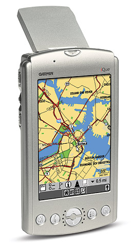 iQue Garmin 3600 and City Select South Africa
