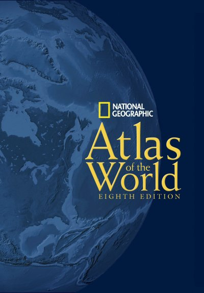 National Geographic Atlas Of The World Simon And Baker Travel - National geographic world satellite map