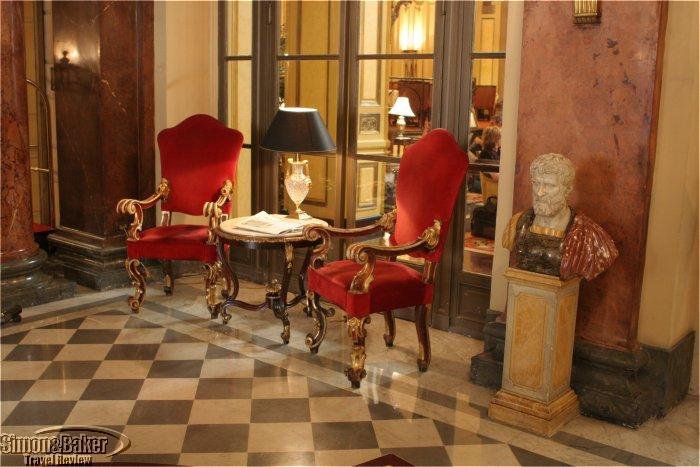 St. Regis Grand Hotel, Rome, Italy