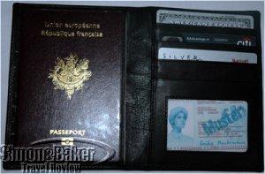 Radio Frequency Identity (RF-ID) Blocking Passport Wallet