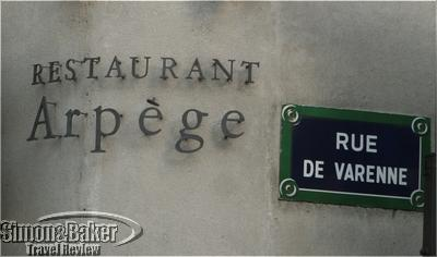 Arpège Restaurant, Paris, France