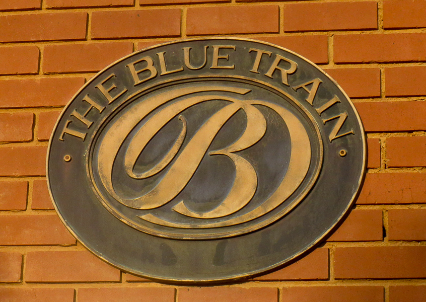 The Blue Train Pretoria to Cape Town, South Africa