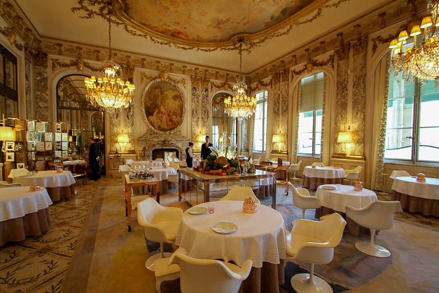 Restaurant le Meurice Alain Ducasse, Paris, France