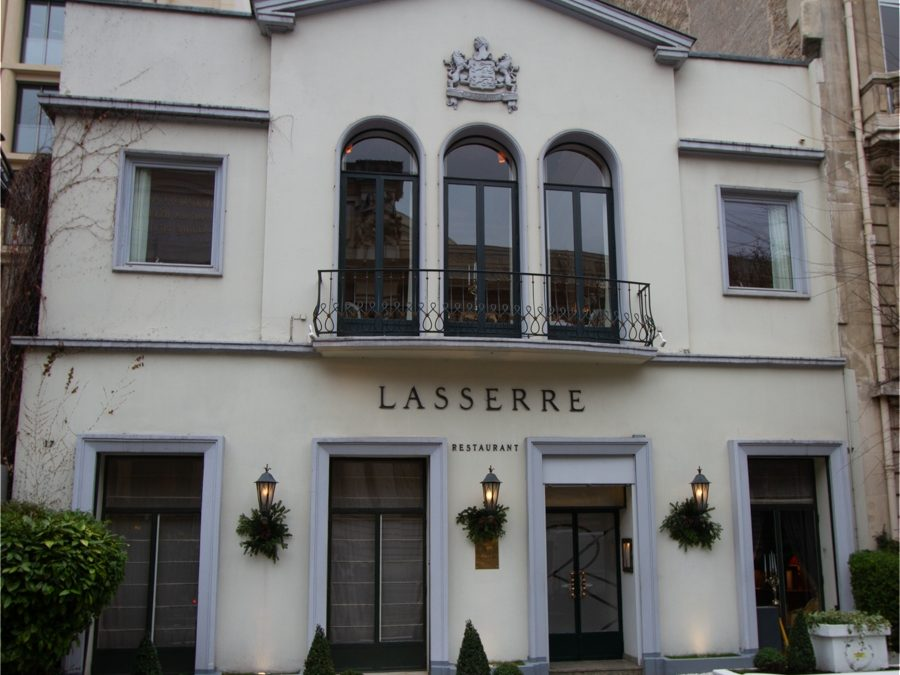 Restaurant Lasserre, Paris, France